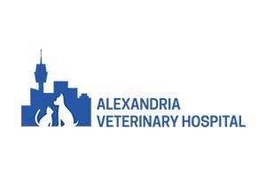Alexandria Veterinary Hospital Logo